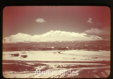 1948 35mm ansco color photo slide Adak Alaska #6 military base