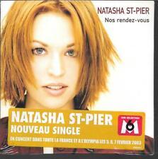 CD SINGLE 2 TITRES--NATASHA ST-PIER--ALORS ON SE RACCROCHE--2002--NEUF / SEALED