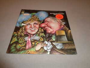 """Mae West and W.C. Fields – Side By Side - Harmony 12"""" Vinyl LP - 1970 - NM-"""