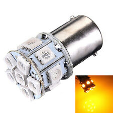 Lamp LED 1156 BA15S P21W 12V DC volts AC 13 SMD Signal Turn Yellow Amber Car