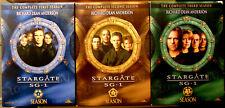 STARGATE SG 1 (DVD Box Sets) Seasons  1 2 & 3 - Free Ship