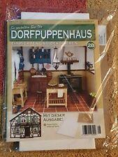 Dorfpuppenhaus NR 28 hintere Küchenwand und Tapete