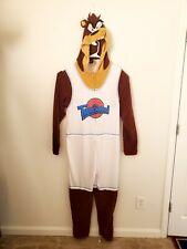 Space Jam Taz Tasmanian Devil Union Suit Tune Squad Costume Adult XL