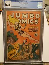Jumbo Comics #115 1948 CGC 6.5 Off-White to White Pages Sheena Fiction House