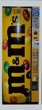 One M&M's  Vending Machine Available 1:18 and 1:24 Scale (Made of Clear Acrylic)