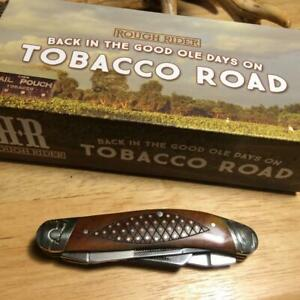 "Rough Rider Tobacco Road Sowbelly Trapper 3 3/4"" Pocket Knife  RR1894"