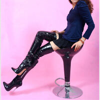 16CM High Height Sex boots Stiletto Heel OVER-The-Knee Boots UK size 4-11