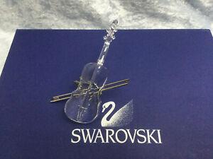 Swarovski Crystal Violin with Bow & Stand - 7477000002. 2004. 1999. MIB
