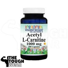 Vitamins Because your Worth it - ACETYL L-CARNITINE 1000mg 200caps