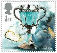 2018 Great Britain 🍁🧹 HARRY POTTER SERIES 🧹 TRIWIZARD CUP 🧹🍁MNH Single