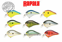 Rapala DT-3 Fat Crankbait DTFAT-03 Dives to 3 ft.  Basla Wood 2.5in 1/2oz - Pick