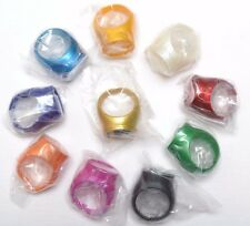 Green Lantern Power Ring Spectrum Set of 9 + Legion Of Super-Heroes Flight Ring