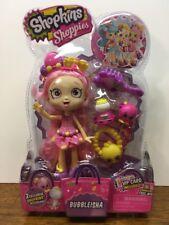 Shopkins Shoppie Doll Bubbleisha w/ Two Exclusive Shopkins  New Free Shipping
