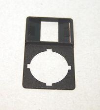 2 Stück Moeller RMQ22 Beschriftungsschild Schildträger MBS-X  NEU
