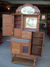 Antique Oak Dental Cabinet Ransom & Randolph #75 Quarter Sawn