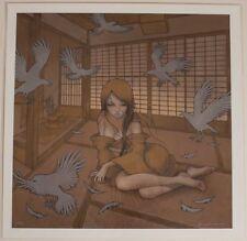 Audrey Kawasaki Kazamachi Giclee Art Print 2009