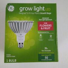 1 GE Grow Light Led 30 Watt Bulb For Flowers & Fruit LED30P38W
