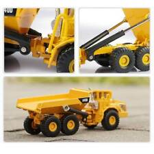1:87 Scale Alloy Dump Truck Diecast Construction Cars Toys Model Christmas Gift