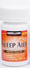Kirkland Sleep Aid (Doxylamine succinate) 25 mg 96 Tablets - Exp 03/2019