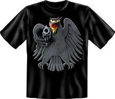 """T-Shirt, schwarz: """"Bundesadler, Deutschland Adler"""": Größe S - XXXL"""