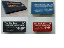 SANDING / RUBBING BLOCKS FOR AUTOBODY PAINT REPAIRS . SET OF 4 DIFFERENT SIZES