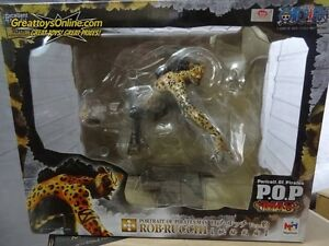 One Piece P.O.P MAS Rob Rucchi Panther 1/8 Megahouse NEW Toei Silver Sticker NEW