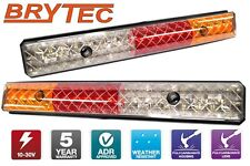 LED TAIL LIGHTS TOYOTA LANDCRUISER 60 70 75 80 100 SERIES TRAY BACK UTE 300ARW