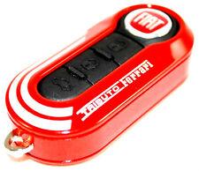 Fiat 500 Punto Abarth Tributo Ferrari Rojo Remoto Clave Cubierta Nuevo Genuino 735527598