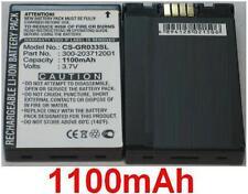 Batería 1100mAh tipo 300-203712001 Para Leadtek 9537 Bluetooth GPS Receptor