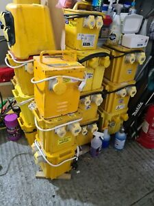 1 x 110V 5KVA Site Transformer 2 X 16A & 1 X 32A Building site Collection only