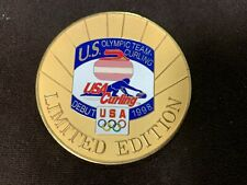1998 USA Curling Olympic Coin