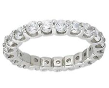 "Gold Ring any size ""U"" F-G Vs/Si1 1.27 carat Round cut Diamond Eternity Band 18k"