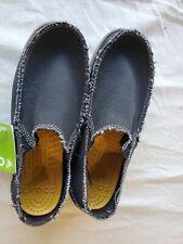 Mens CROCS Santa Cruz Black/khaki Relaxed Fit Brand New Size m 8 q7