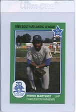 1989 South Atlantic League PEDRO MARTINEZ #11 Rookie RC Grand Slam
