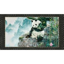"""Quilting Treasures Imperial Panda by Jan Martin McGuire 24978 X - 24"""" Panel"""
