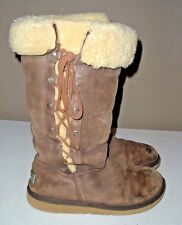 Women's UGG Australia Upside Boot Humous Leather 5167 Size: 8