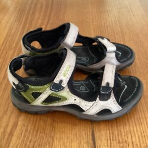 ECCO OUTDOOR SANDALS, Size 38, With Anatomical Wave Footbed.