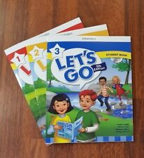 Let's Go 5th edition Student Book level 1,2 And 3 (3 books) with CD- ROM