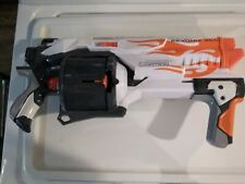Nerf Vortex 'REVONIX 360 Slam Fire Pump Disc Blaster w/ 30 Disc Barrel- 2012