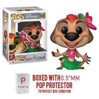 "Funko Pop Disney: The Lion King: Luau Timon #500 Figure w/0.5mm Case ""MINT"""