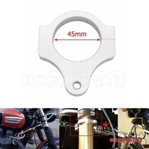 Motorcycle 45MM Steering Damper Fork Frame Stabilizer Clamp Mounting Bracket NEW