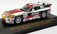 Ixo 1/43 Scale Metal Model LMM040 Chrysler Viper Larbre Comp #51 LM 2002