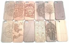 Patterned Wood/Bamboo Mobile Phone & PDA Cases & Covers for iPhone 5c