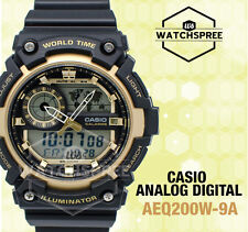 Casio Standard Analog Digital Watch AEQ200W-9A
