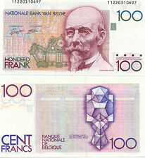 Belgium 100 FRANCS (1978-81) p-140, UNC