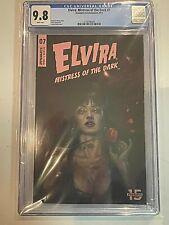 Elvira mistress of the Dark #7 Lucio Parrillo Cover Dynamite CGC 9.8