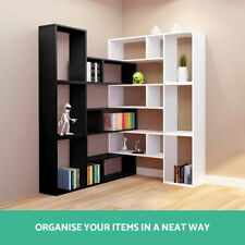 Artiss DIY L Shaped Display Shelf Multi-purpose Home Office DIY Display Cabinet