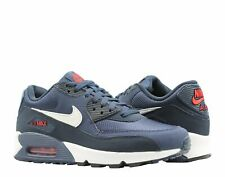 new arrivals 1e6e6 1b66d Nike Air Max 90 Essential Midnight Navy White Men s Running Shoes AJ1285-403