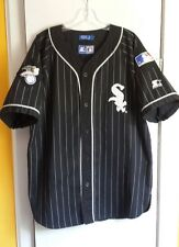 Vintage Chicago White Sox Starter Pin Stripes Jersey Size L