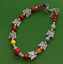 Classical Multi COLOR Turquoise 925 silver FILLED hook adjustable bracelet